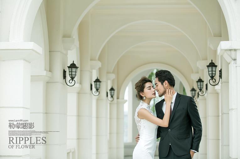 古街欧式婚纱照